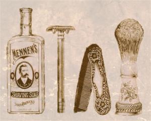 Savons à barbe