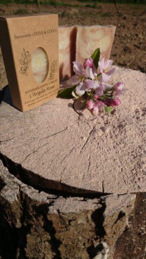 Savon bio #biodégradable #argile rose #printemps 2020 #en confinement #on se lave les mains